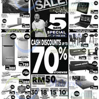 Courts Up To 70% Off Savings Offers 6 - 9 Feb 2016