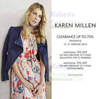 Read more about Karen Millen Clearance Sale @ Pavilion KL 10 - 21 Feb 2016