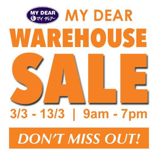My Dear Warehouse 19 Feb 2016