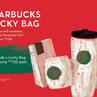 Read more about Starbucks RM150 Lucky Bag 20 - 29 Feb 2016