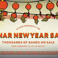 Steam Lunar New Year Sale 6 - 12 Feb 2016