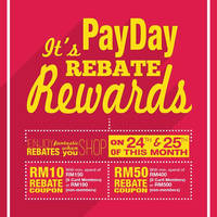 Read more about KL Sogo Spend RM180 & Get FREE RM10 Rebate Coupon 24 - 25 Mar 2016