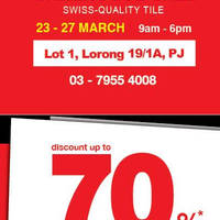 Read more about Niro Granite Warehouse Sale @ Petaling Jaya 23 - 27 Mar 2016