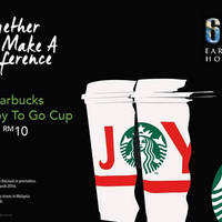 Read more about Starbucks RM10 Joy-To-Go Cup 1-Day Promo 18 Mar 2016