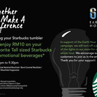 Read more about Starbucks fr RM10 Macchiato Beverage Earth Hour Promo 830pm to 930pm 19 Mar 2016