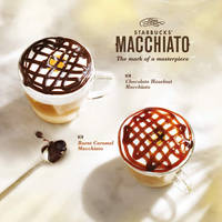Read more about Starbucks New Macchiato Variations From 2 Mar 2016