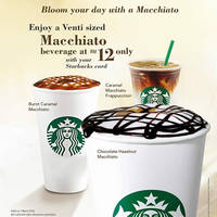 Read more about Starbucks RM12 Venti-sized Macchiato Beverage 1-Day Promo 7 Mar 2016