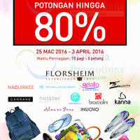 Read more about Florsheim & Naquirkee Warehouse Sale @ Petaling Jaya 25 Mar - 3 Apr 2016