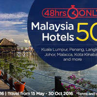 Read more about Air Asia Go 50% Off Malaysia Hotels 48hr Promo from 25 - 26 Apr 2016