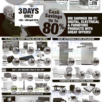 Read more about Courts Up To 80% Off Savings Offers from 16 - 18 Apr 2016
