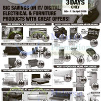 Read more about Courts Up To 65% Off Savings Offers 9 - 11 Apr 2016