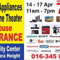 Read more about Desa Home Theatre Warehouse Clearance Sale from 14 - 17 Apr 2016