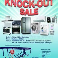 Read more about Electrolux Warehouse Sale 16 Apr 2016