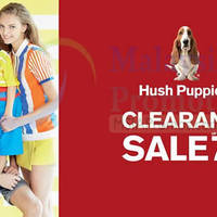 Hush Puppies Apparel Malaysia will be having a clearance sale at Atria Shopping Gallery from 29 April to 8 May 2016