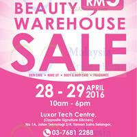Read more about International Beauty Warehouse Sale 28 - 29 Apr 2016