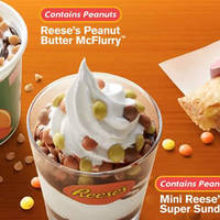 Read more about McDonald's New Reese Peanut Butter Mcflurry & Mini Reese Super Sundae From 25 Apr 2016