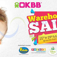 OKBB will be having a Warehouse Sale from 25 Mayto 29 May 2016 at Bandar Bukit Puchong. Enjoy discounts of up to 80% off on Baby Apparel & Accessories