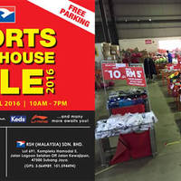 Read more about Royal Sporting House Warehouse Sale 13 - 17 Apr 2016