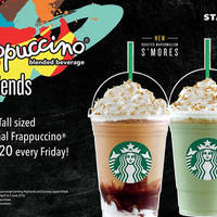 Get your partner-in-crime ready because it's time to sip outside the line! Starting today, every Friday, enjoy TWO tall sized promotional Frappuccino at RM20.