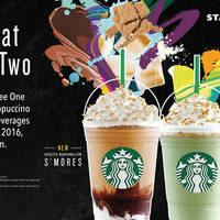 Read more about Starbucks Buy 1 FREE 1 Any Frappuccino 5pm to 8pm on 25 Apr 2016