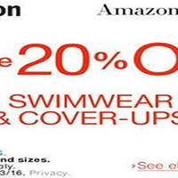 Read more about Amazon.com 20% OFF Women's Swimwear & Cover-ups NO Min Spend Coupon Code From 20 May - 4 Jun 2016