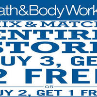 Bath & Body Works will be having a Buy-2-Get-1-Free and Buy-3-Get-2-Free from 27 to 29 May. Save up to RM170. Mix & match