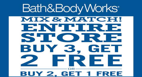 Bath Body Works Feat 26 May 2016