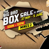 Read more about Big Bad Wolf Books Box Sale at Mines 2 from 27 May - 5 Jun 2016