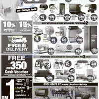 Courts Mammoth is having a promotion featuring cash savings of up to 80% off. 3 Days Only.