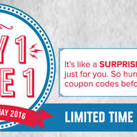 Read more about Domino's Pizza Buy 1 FREE 1 Promotion from 10 - 22 May 2016
