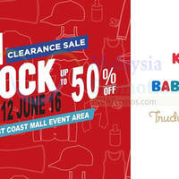 KIKO, BABY KIKO, Trudy & Teddy will be having a Jom Shock Clearance Sale at Parkson East Coast Mall from 23 May to 12 Jun