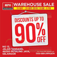 Read more about MPH Bookstores Warehouse Sale at Petaling Jaya from 19 - 29 May 2016