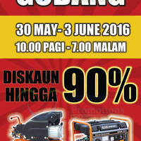 Mr Mark Professionals Tools will be having a Warehouse Sale from 30 Jun - 3 Jun 2016, 10am to 7pm. Enjoy up to 90% off