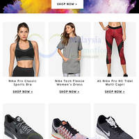 Zalora is having a special clearance on Nike products for a limited time. Find Nike Clothing, Shoes, Accessories, Sports, Bags and more at bargain prices.