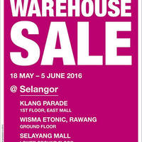 Read more about Parkson Warehouse Sale at Selangor 3 Locations from 18 May - 5 Jun 2016
