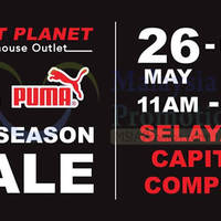 Sport Planet will be having a off season sports brand sale featuring over a million products from international sports brands such as Adidas, Puma, Nike, Timberland, Yonex etc at huge discounts UP TO 70%