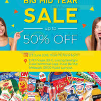 Enjoy up to 50% off on imported treats at The Big Box Asia Mid Year Sale from 2 - 3 Jun 2016! From countries like the UK, France, Portugal, Belgium and more