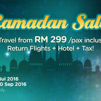 Read more about Air Asia Go fr RM299 (Flights + Hotels + Taxes) Travel Packages from 6 Jun - 3 Jul 2016