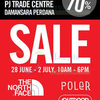 Hey urban travellers, Bratpack PJ Trade Centre is having a sale until 2 July. Backpack, Jackets, Apparels and many more on great sale at up to 70% off