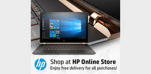 HP Online Store 8% to 10% off storewide coupon codes valid from 16 Jan – 31 Dec 2017