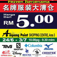 Read more about Jetz FFL Raya Branded Sale at Ampang Point from 24 Jun - 3 Jul 2016
