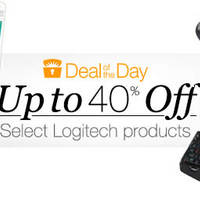 Save up to 50% off selected Logitech PC accessories such as Gaming Headset, Laser Gaming Mouse, Harmony Ultimate Home Touch Screen Remote, 3.5mm Jack Compact Laptop Speakers