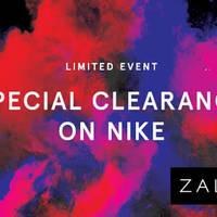 Read more about NIKE Clearance Sale at Zalora from 25 - 28 Jun 2016