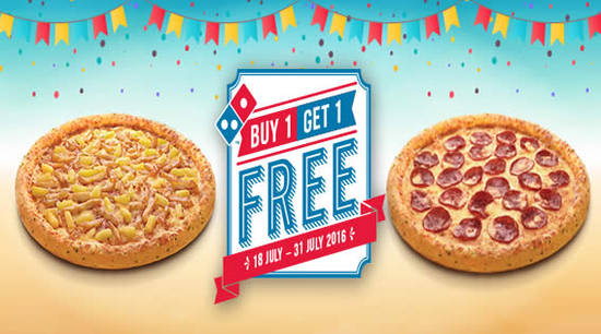 Dominos Pizza Feat 19 Jul 2016