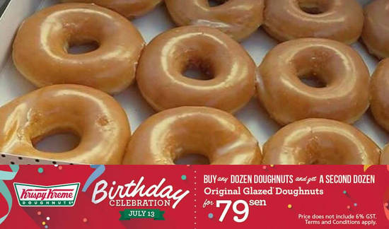 Krispy Kreme Feat 10 Jul 2016