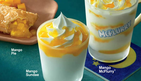 McDonalds NEW Mango Feat 25 Jul 2016