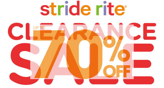 Stride Rite Clearance Feat 4 Aug 2016