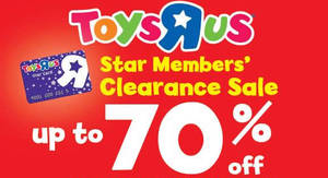 "Toys ""R"" Us Clearance Sale – Up to 70% Off at The Summit from 30 Mar – 3 Apr 2017"