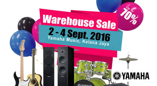 Yamaha Warehouse Sale Feat 31 Aug 2016