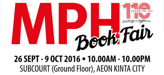 MPH Book Fair Feat 27 Sep 2016